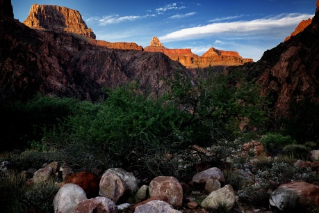 Grand canyon from river
