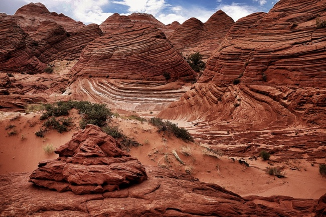Arizona/Utah red waves landscape