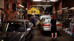 san franciscco - garage downtown