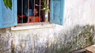 Cambodia monk school